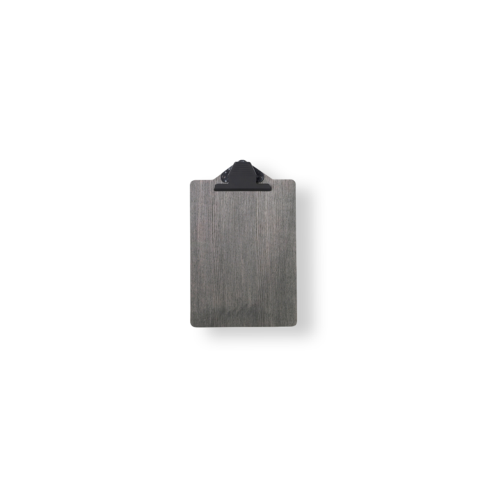 Clipboard A5 - Schwarz gebeizt