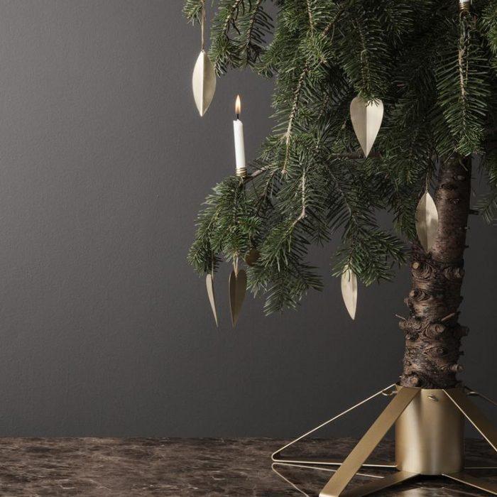 Weihnachtsbaumständer Brass