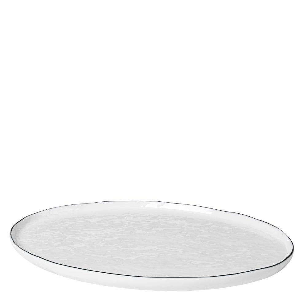 Platte Oval Salt von Broste Copenhagen