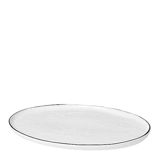 Platte Oval klein Salt von Broste Copenhagen