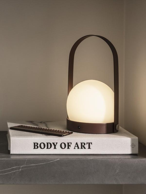 Carrie LED Lampe, Schwarz