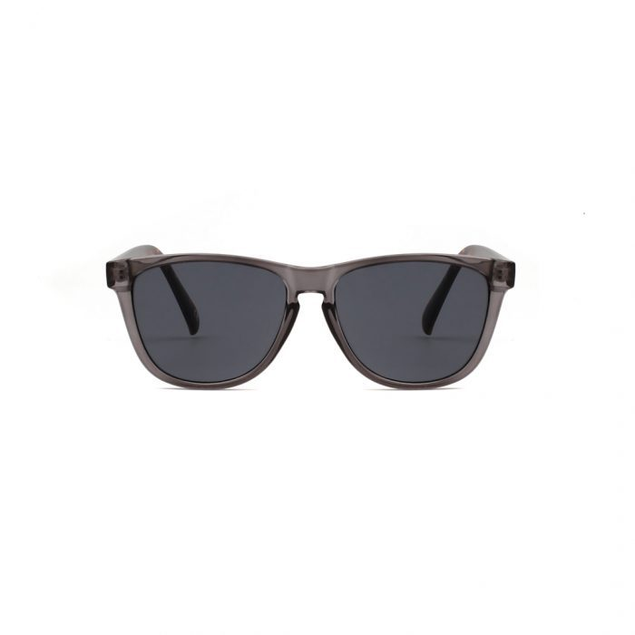 Sonnenbrille Mate Transparent - grau verdunkeltes Glas