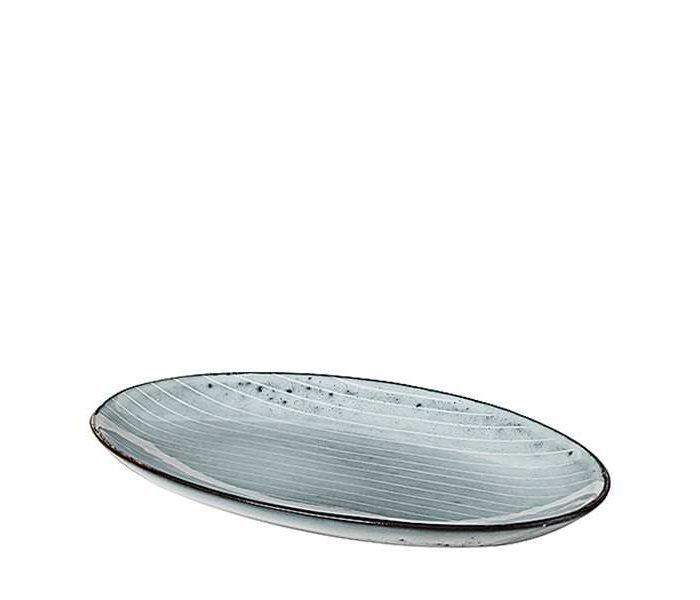 Platte oval groß von Broste