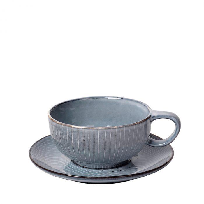 Teetasse mit Untertasse Nordic Sea von Broste