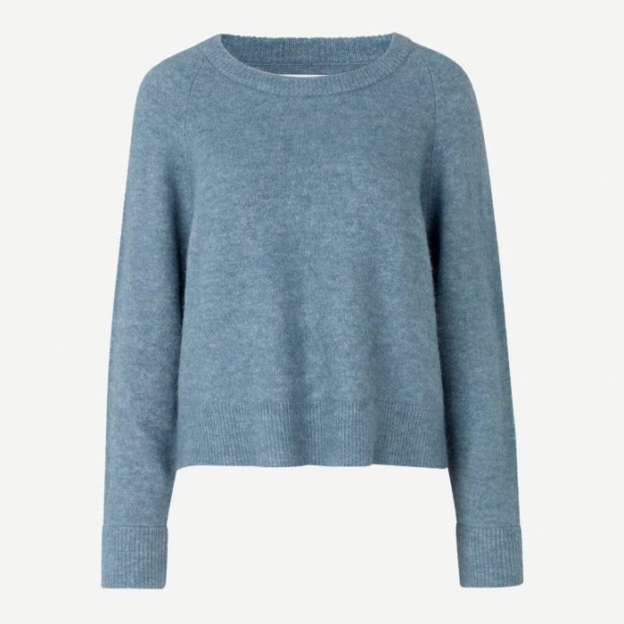 Nor Sweater Blue Mirage von Samsoe & Samsoe