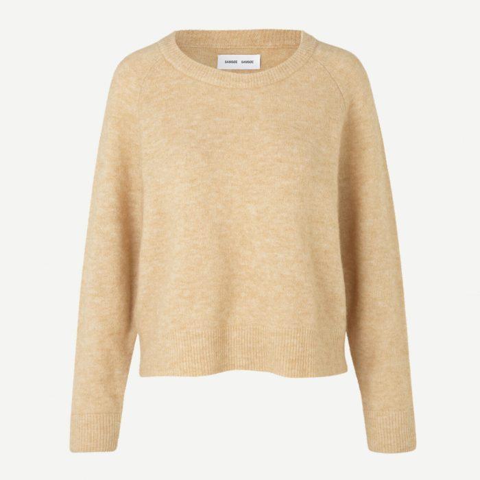 Nor Sweater Croissant von Samsoe & Samsoe