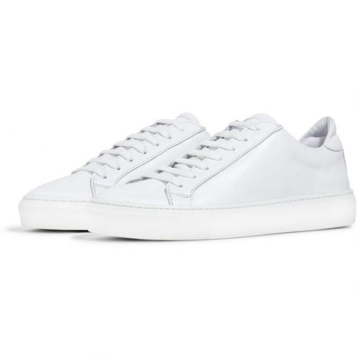 Sneaker Type White Leather von Garment Project
