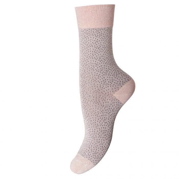 Socken Poppy Nude Silver von MP Denmark