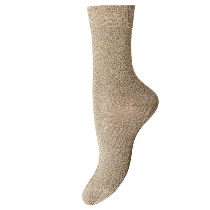 Socken Poppy Gold von MP Denmark