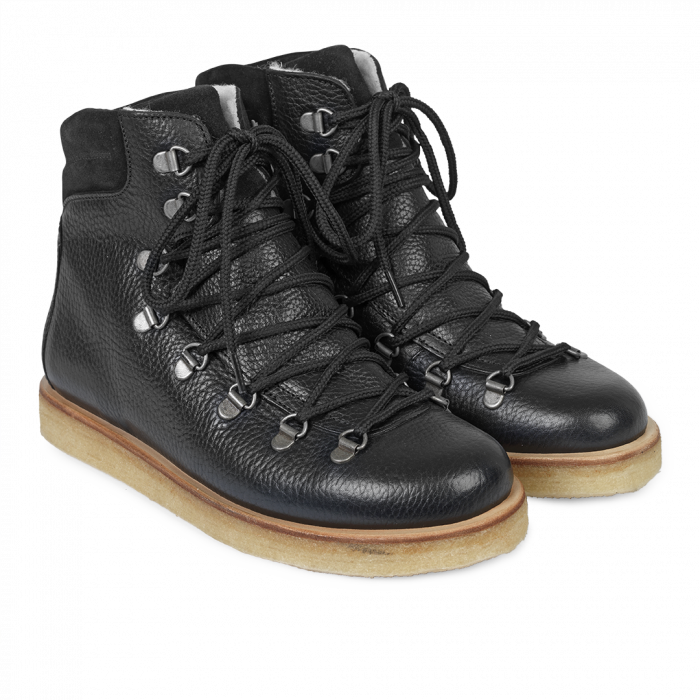 Damen Boot Black