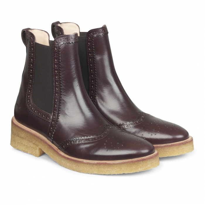Damen Chelsea Boot Dark Brown