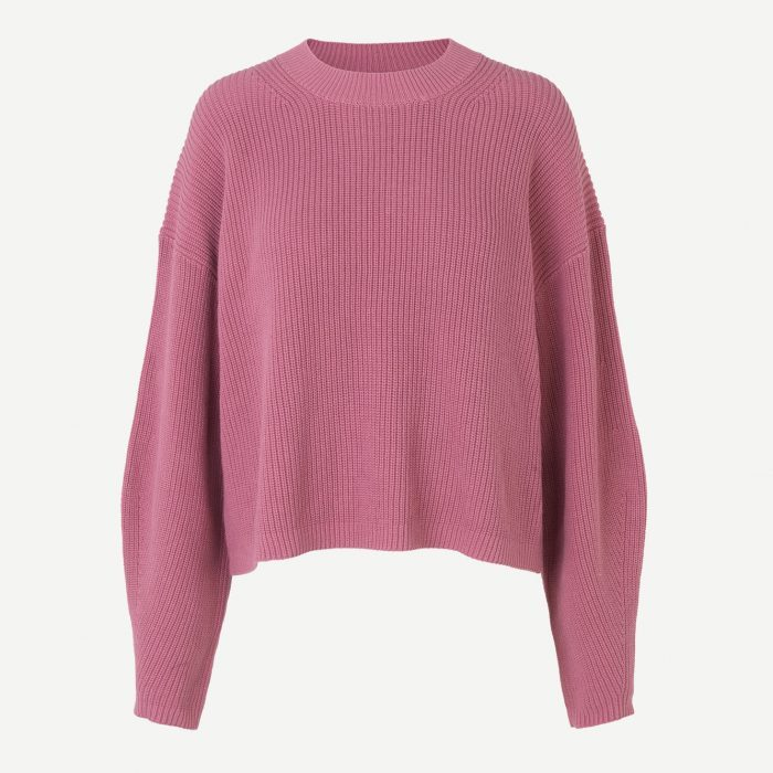 Galia Pullover Heather Rose von Samson