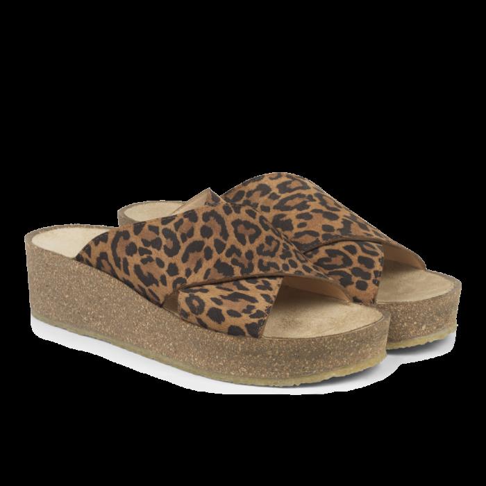 Sandalen Leopard