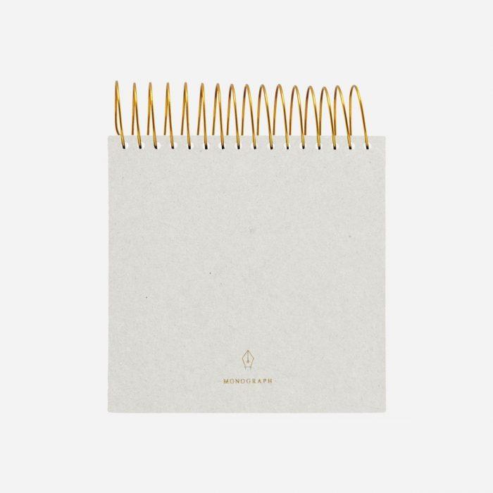 Notizbuch Spiral Grey von Monograph
