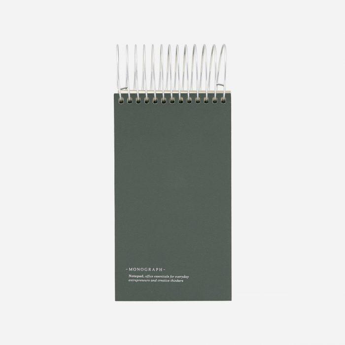 Notizbuch Dark Green von Monograph