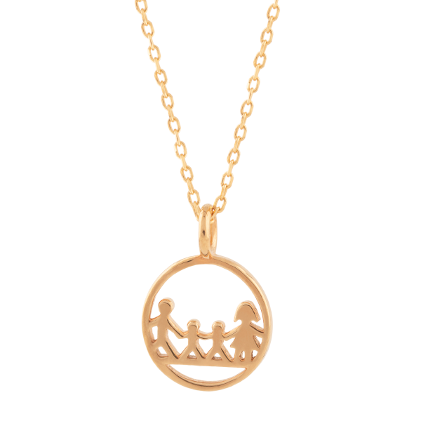 Goldkette von Sanne Nordahn