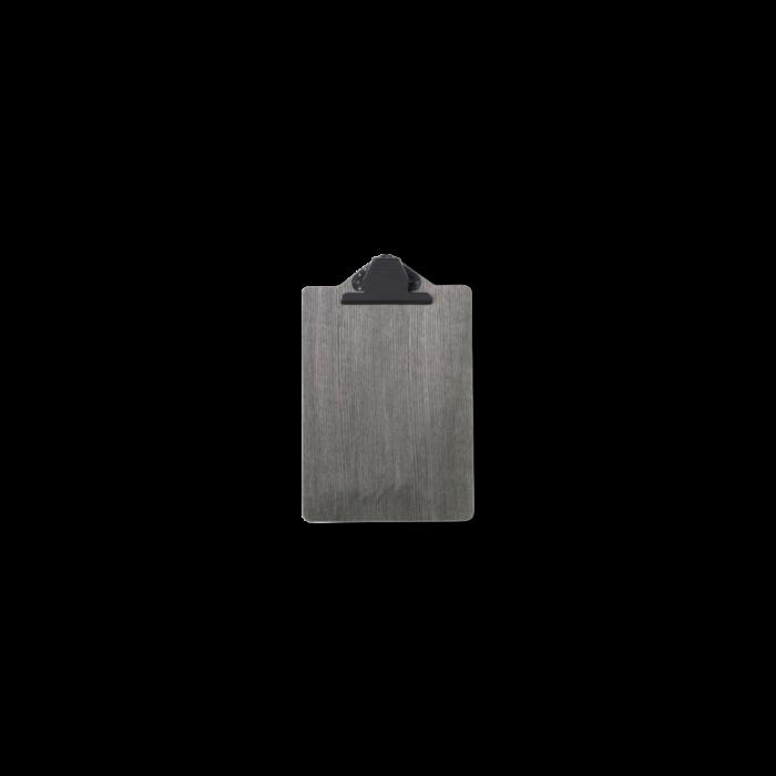Clipboard A4 Schwarz gebeizt