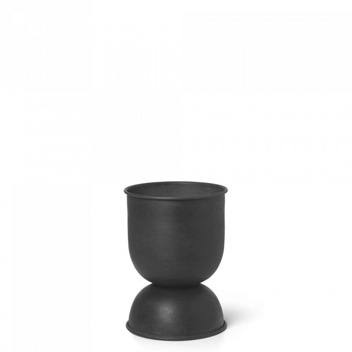 Hourglass Topf XS - Black von ferm Living