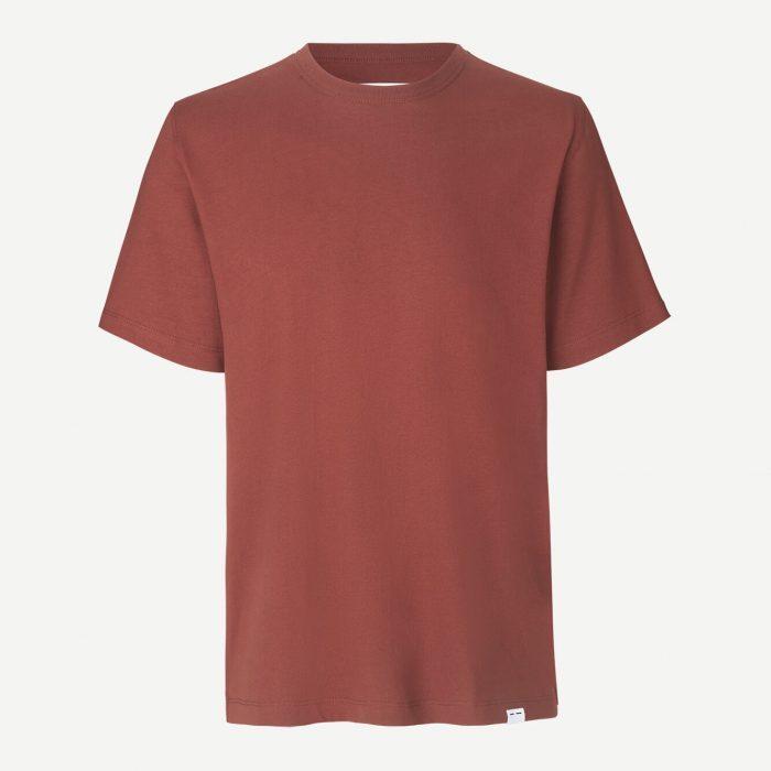Hugo T-Shirt - Cinnamon von Samsoe
