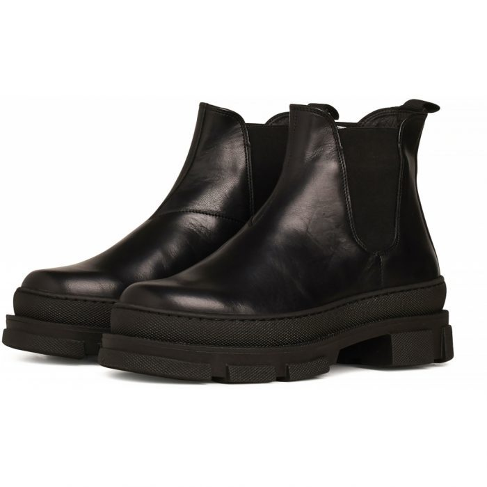 Boots Irean Chelsea Black Leather