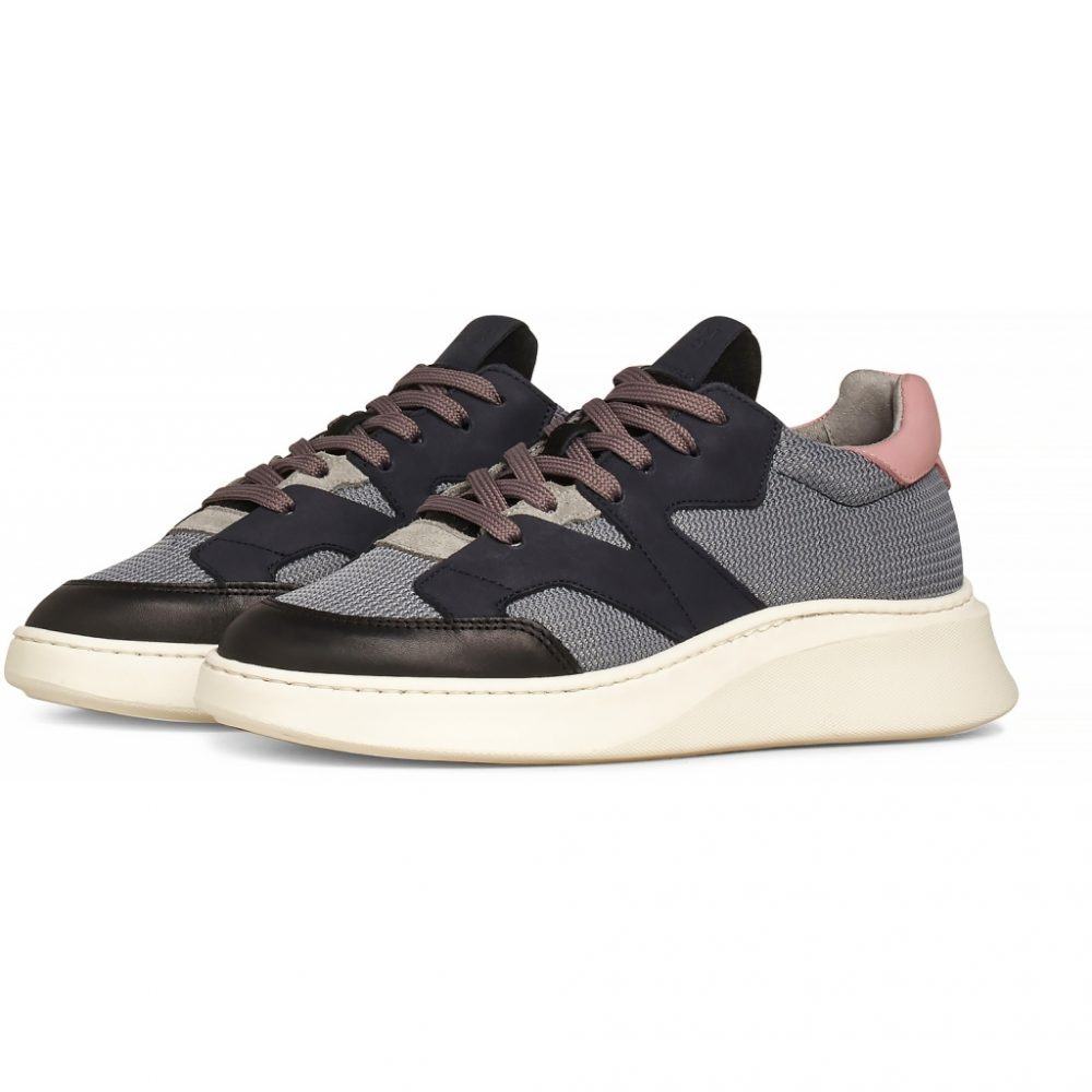Sneaker Manhattan - Dark Grey Leather von Garment Project