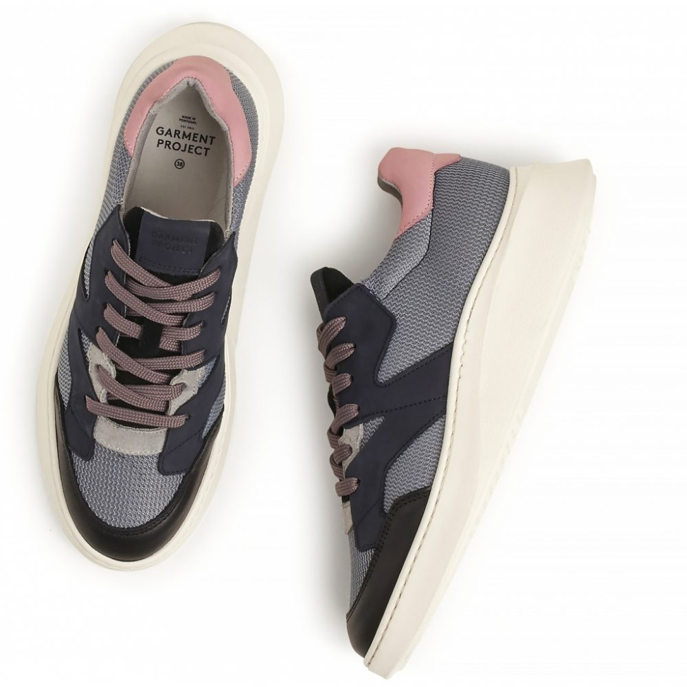 Sneaker Manhattan - Dark Grey Leather von PG