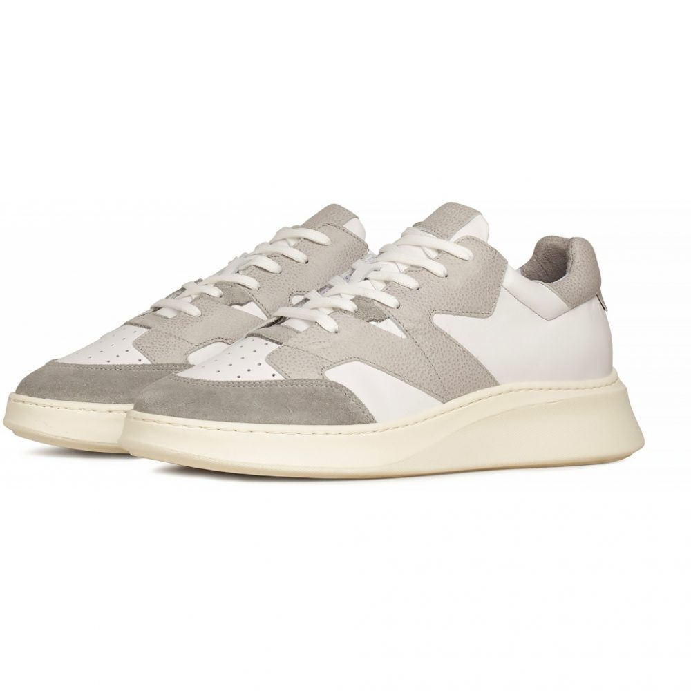 Sneaker Manhattan - White/Grey Leather von Garment Project