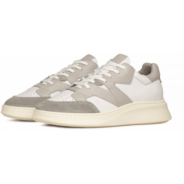 Sneaker Manhattan - White/Grey Leather von Garment Project