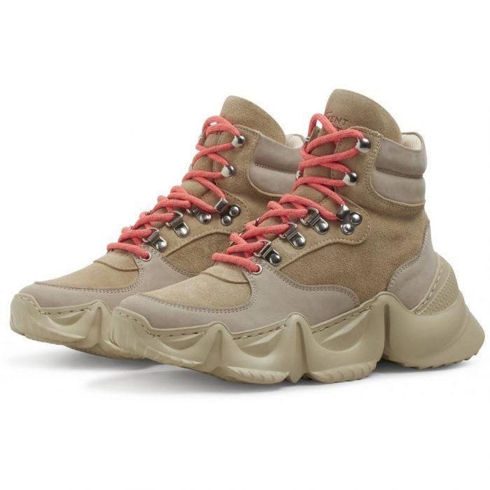 Boots Zippy - Sand Suede von Garment Project
