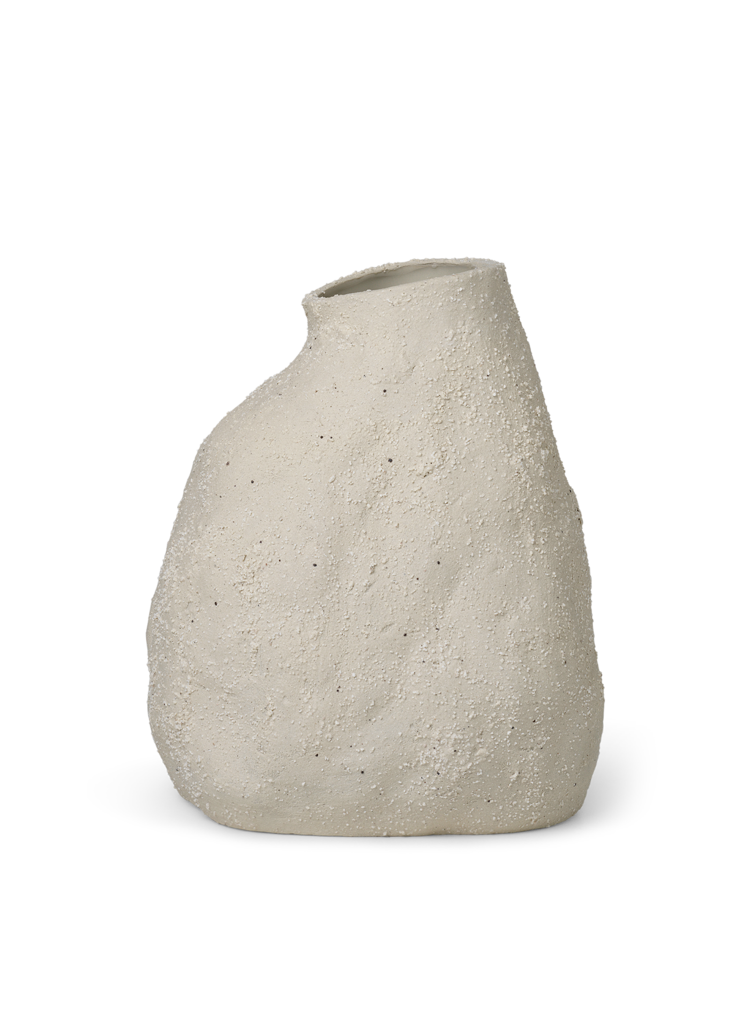 Vulca Vase Medium - Off White von ferm Living