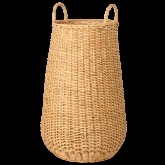 Handgeflochtener Wäschekorb - Natural von ferm Living