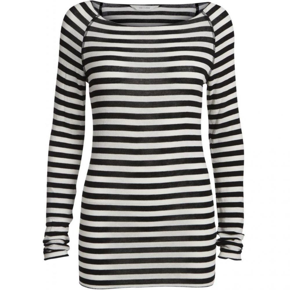 Amalie Shirt - Off White/Black von Gai + Lisva