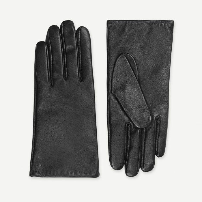Polette Lederhandschuhe - Black von Samsoe