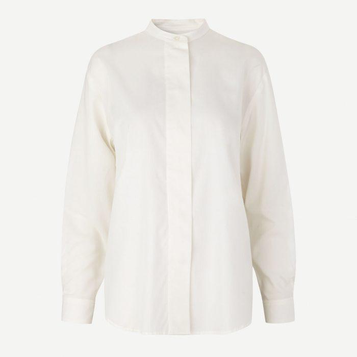 Carina Bluse - White von Samsoe&Samsoe