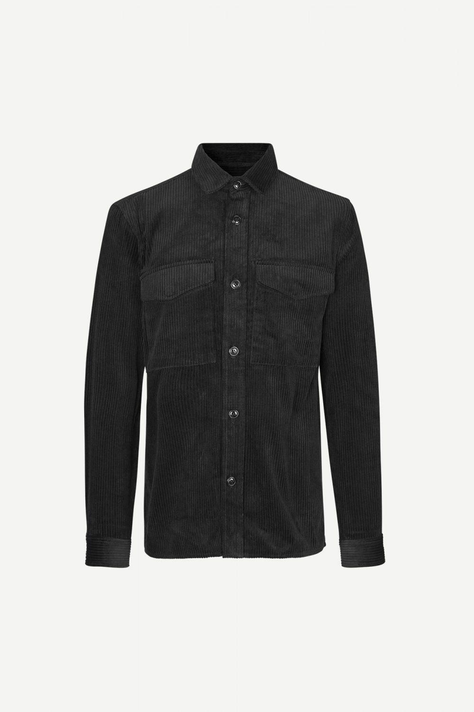 Waltones Überziehhemd - Black von Samsoe