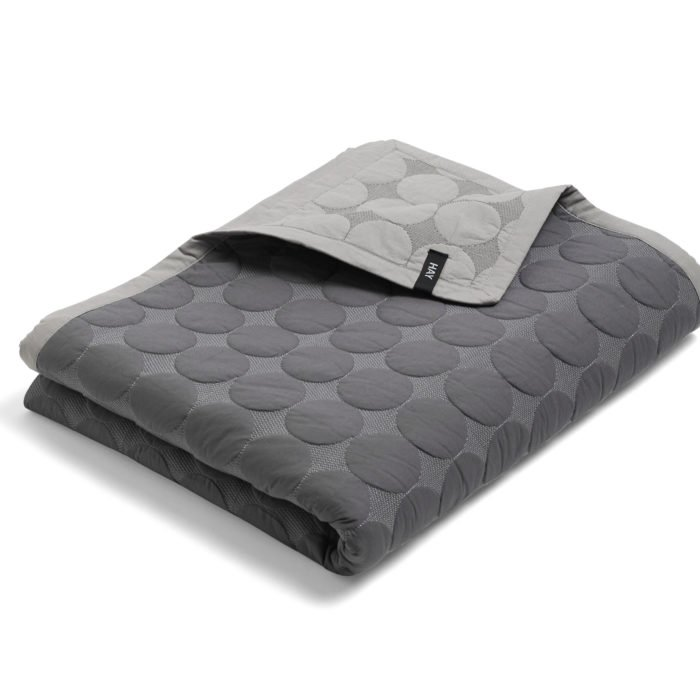 Mega Dot Bettdecke - Dark Grey von Hay