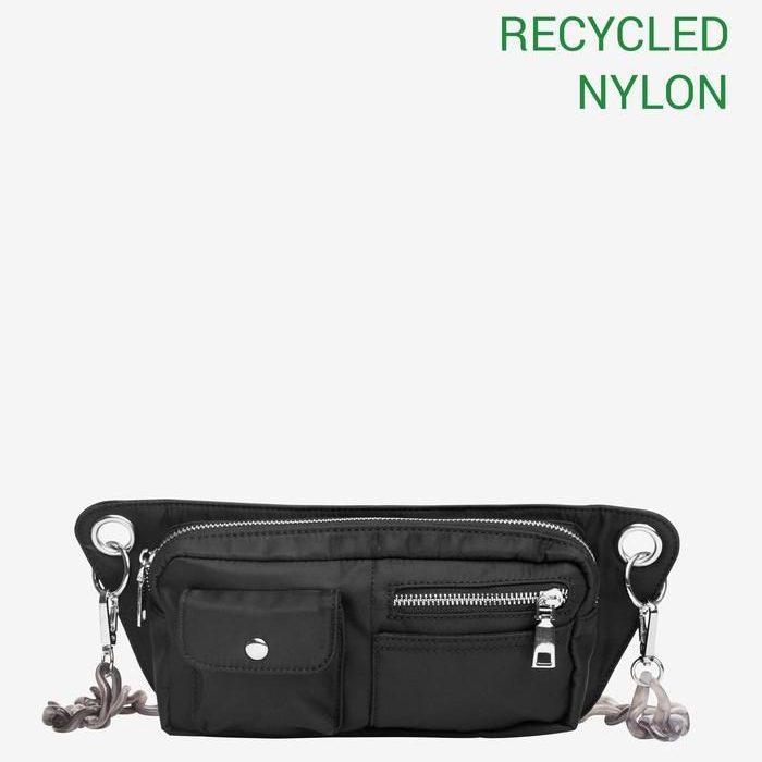 Brillay Bum Bag - Jet Black, Recycled von Hvisk