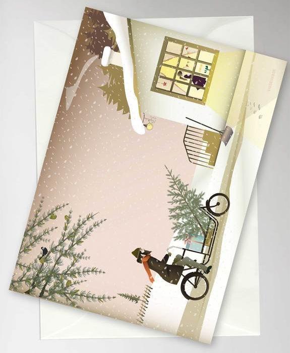 "Grußkarte ""Ready For Christmas"" von Vissavasse"