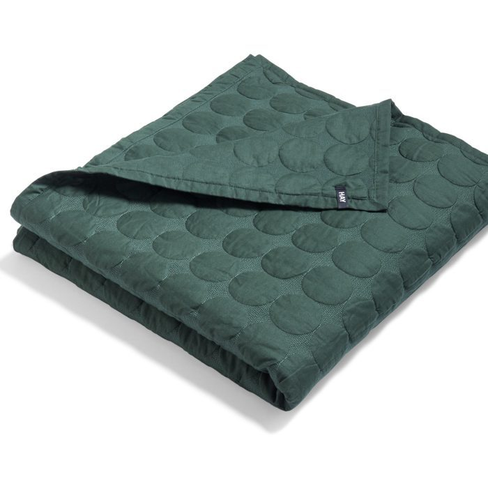 Mega Dot Bettdecke - Dark Green von Hay