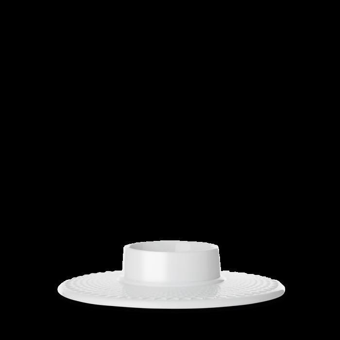 Rhombe Block Kerzenhalter - White von Lyngby