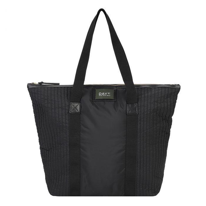 Gweneth RE-Q Einkaufstasche - Black von Day et