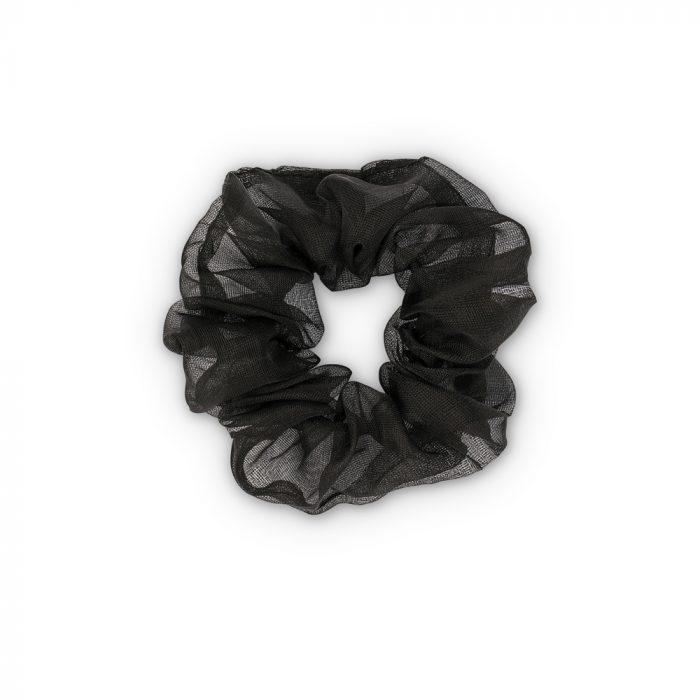 Karla Organza Haargummi - Black