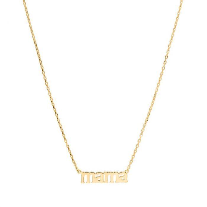 Mama Halskette Gold Sui Ava
