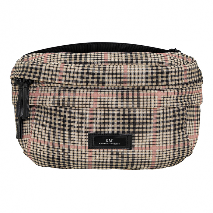 Gweneth Tartan Bum Bag - Moonlight Beige von DAY ET