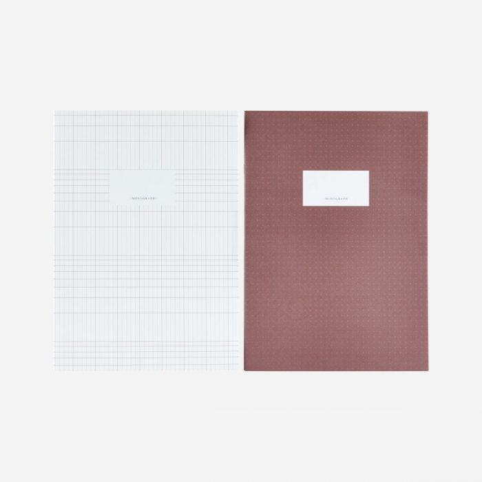 Lines Notizbuch - Paprika von Monograph