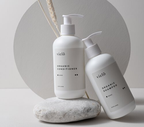 Explore Organic Haarpfelge-Duo von Vielö