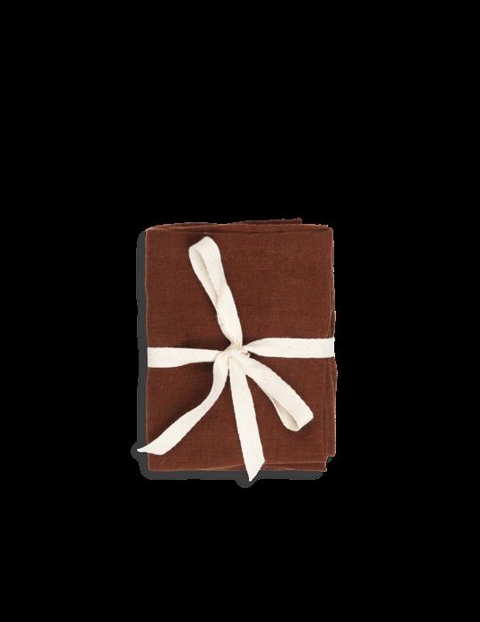 Stoffservietten Leinen - Cinnamon von ferm Living