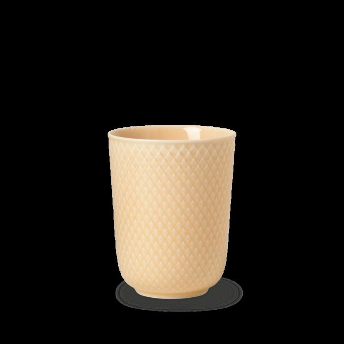Rhombe Color Becher - Beige von Lyngby