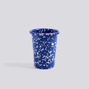 Enamel Trinkbecher - Blue - Speckel von Hay