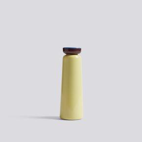 Sowden Trinkflasche - Light Yellow von Hay